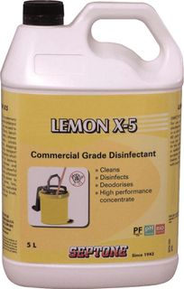 Lemon X Disinfectant 5L