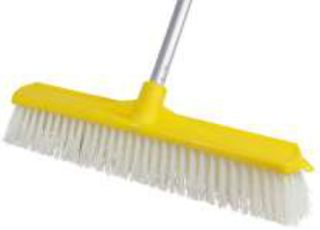 45cm Scrubbing Broom & Handle