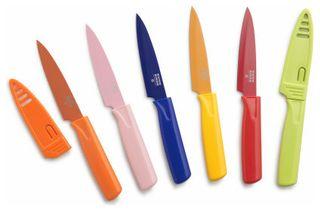 "Paring Knife 4"" Green"