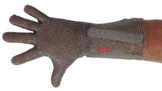 Spring Wrist Short Cuff Mesh Glove