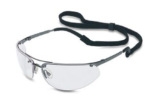 Gunmetal Clear Safety Glasses