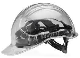 Transparent Hard Hat Grey