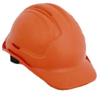 HiVis Orange Hard Hat Vented
