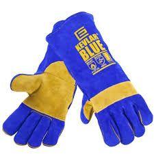 Kevlar Blue Welder Gloves