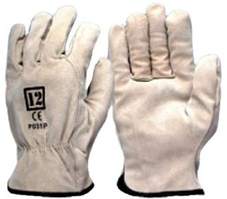 Pig Skin Rigger Gloves