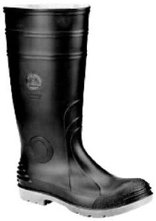 Job Master Safety Gumboots Black