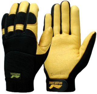 Deerskin Winter Rigger Gold XL
