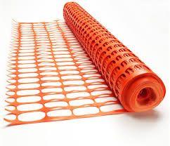 Orange Barrier Mesh 50m roll