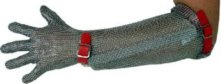 Chainex Extra-Long Cuff Mesh Glove (To Elbow)