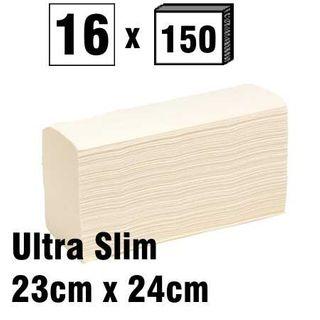 Ultra Slim Fold Towel 23x24