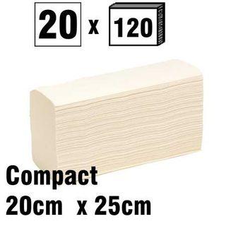 Compact Fold Towel 20x25