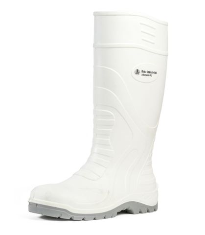 Bata Polyurathane White Safety Gumboot