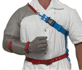 Right Sleeve Shoulder Mesh Glove