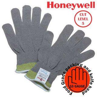 Grey Cut Resistant Gloves