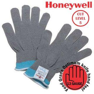 Grey Honeywell Tuffshield Cut Resistant Glove