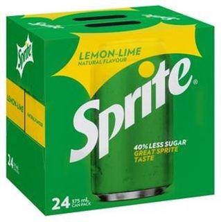 Sprite Can 375ml X 24