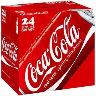 Coke Cans 375ml X 24
