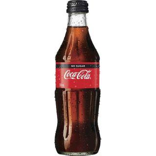 Coke No Sugar Glass Btl 330ml X 24