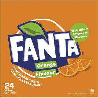 Fanta 375ml Cans X 24