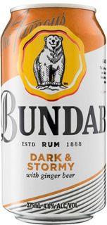 Bundaberg Dark & Stormy Can 4x6 375ml-24