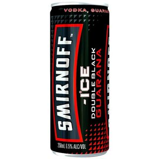 Smirnoff D/black Guarana 250ml-24