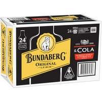 Bundaberg Yellow & Cola Stb 4x6 345ml-24