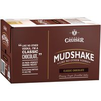 Cruiser Mudshake Chocolate 275ml-24