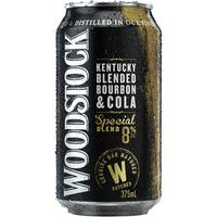 Woodstock & Cola Can Gold 8% 375ml-24