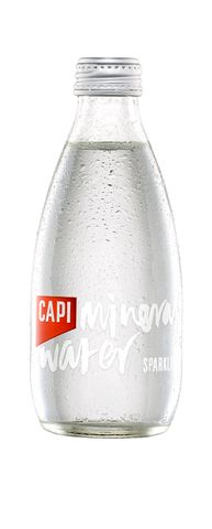 CAPI Sparkling Mineral Water 250ml X 24
