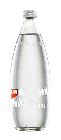 CAPI Sparkling Mineral Water 750ml X 12