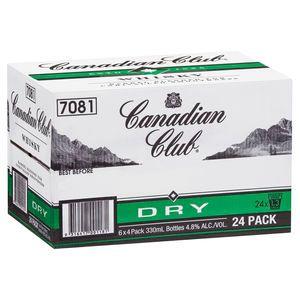 Canadian Club & Dry Stubb 330ml-24