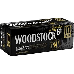 Woodstock & Cola 6% Cans 10PK x3
