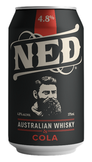 NED Whisky & Cola 375mL ABV 4.8%-24