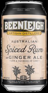 Beenleigh Spiced Rum & Ginger 375ml-24