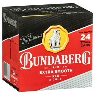 Bundaberg Red & Cola Cubes 375ml-24