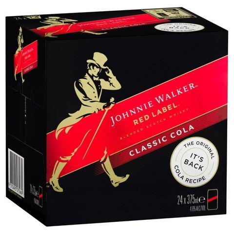 Johnnie Walker & Cola CUBE-24