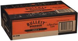 Bulleit & Cola Black Can 6% 375ml-24
