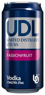 UDL Vodka & Passion Can 375ml-24