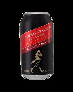 Johnnie Walker & Cola Cans 375ml 4x6-24
