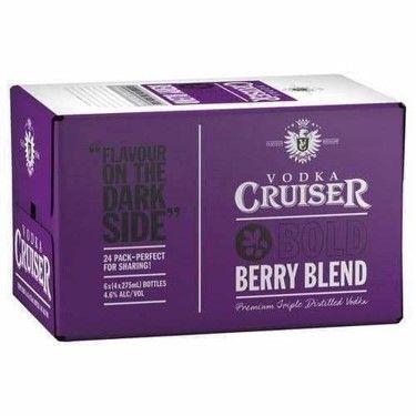 Cruiser Bold Berry 275ml-24