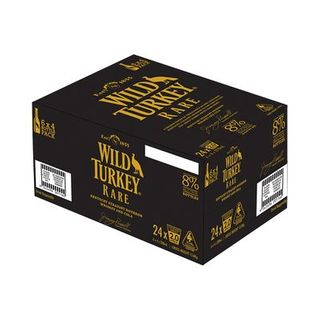 Wild Turkey Rare 8% Cola Stub 6x4 320-24
