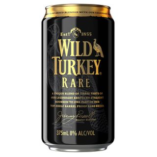 Wild Turkey Rare 8% Cola Can 6x4 375-24
