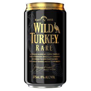 Wild Turkey Rare 8% Cola Can 6x4 375-24