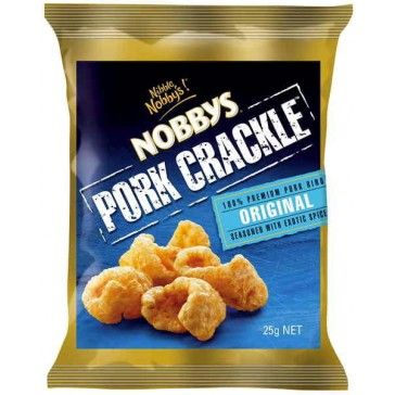 Nobbys Pork Crackle 25g