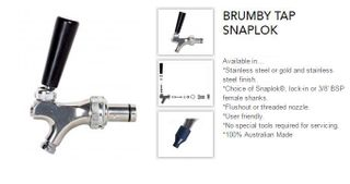 Brumby Tap with SnapLok