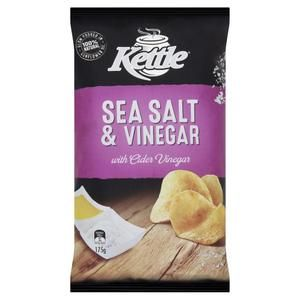 Kettle Sea Salt & Vinegar 45g x18