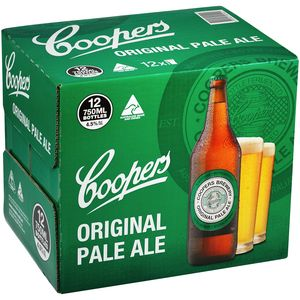 Coopers Pale Ale 750ml-12