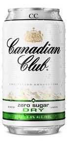 Canadian Club & Dry ZERO 375ml 10PK x3