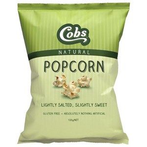Cobs Natural Sweety Salty Popcorn 30gx30