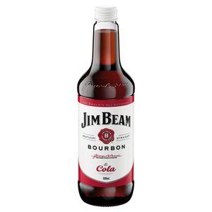 Jim Beam WHITE & Cola Btl 500ml-12